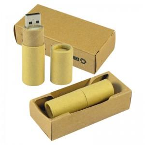 Pendrive Cartón Reciclado
