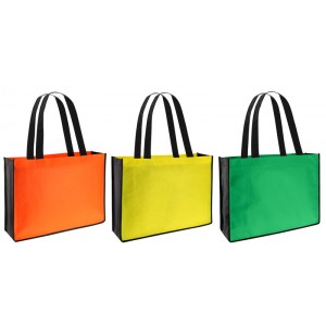 Bolsa Eco Bicolor 40x30x11