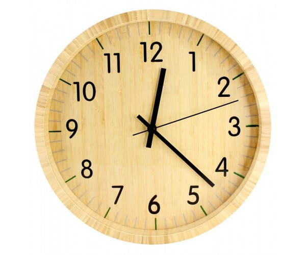 Reloj de bamboo - Maquinaria para relojes de pared ...