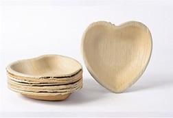Bowl de Madera Corazón 16cm