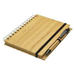 Cuaderno Tapas de Bamboo