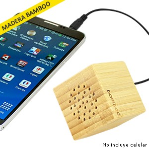 Parlante USB Bamboo