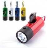 Linterna Led con Dispensador de Bolsas