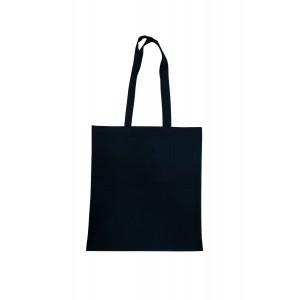 Bolsa Algodón Negra 42x38