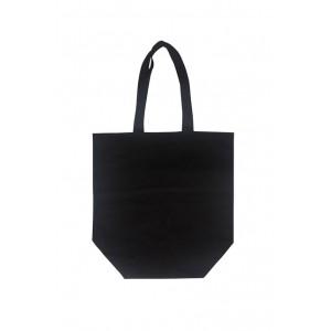 Bolsa Algodón Negra 40x38